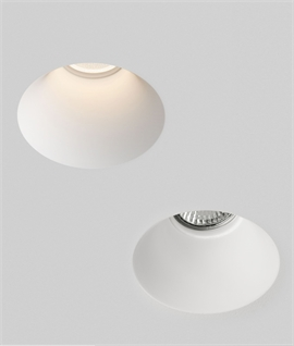 Trimless Invisible Plaster-in Downlight For Gu10 Lamps