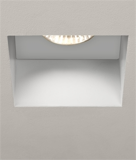 Fixed Square Trimless Downlight - Fire Rated