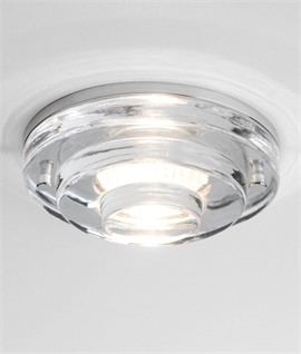 Soda Glass Round IP65 Downlight