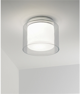 Striking Ceiling Light - Bright Yet Diffused Lighting For Your Bathroom