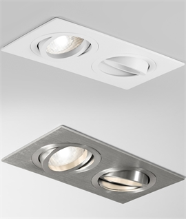 Twin Adjustable Interior Downlight
