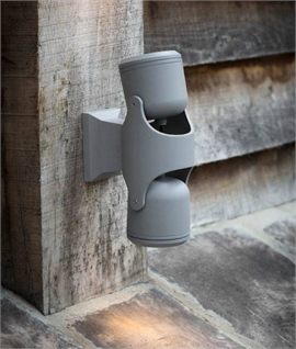Adjustable Charcoal Wall Spotlight - Single or Twin