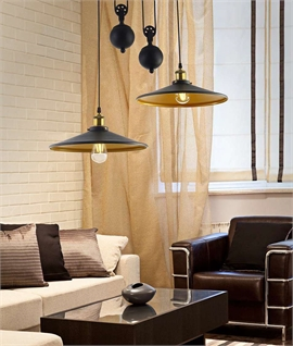 Rise fall pendant lights lighting styles twin rise fall pendant on single ceiling bar mozeypictures Images