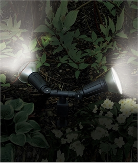 Weatherproof Exterior Spike Lights - Single or Twin