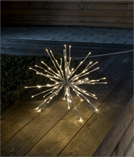 Twinkling Ball Star Hanging Light - Two Sizes