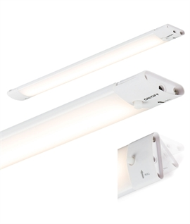 Slimline LED Under Cabinet Striplight - Adjustable & Linkable
