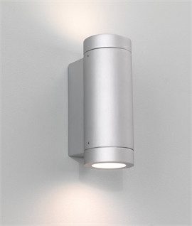 Cylindrical Wall lights Suitable for Coastal Locations