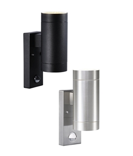 Exterior Up & Down Wall Light with PIR