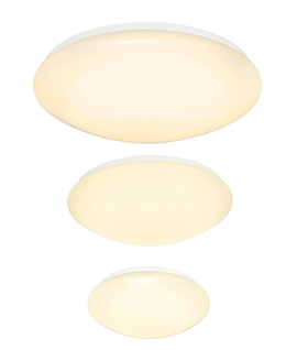 Domed LED Ceiling & Wall Light - 3 Sizes Available