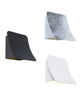 Urban Exterior LED Curved Wall Light - Wall Washing