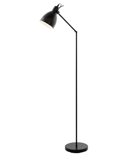 Vintage Styled Black Floor Lamp