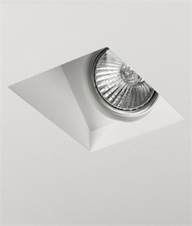 Trimless Plaster-in Downlight - Wallwasher