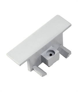 End Cap for Recessed Track Systems