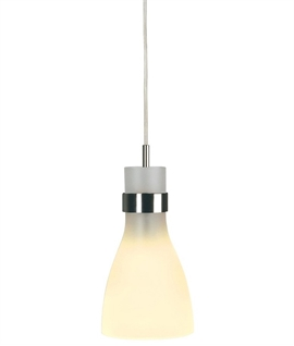 Frosted Glass Hanging Pendant for advanced track