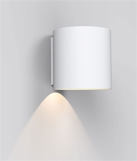Small LED Single Wall Light H: 120mm