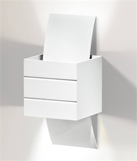 Modern Cube Wall Light for Wall Washing