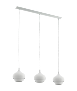 Scandinavian Three Light Bar Pendant – E27 Lamp