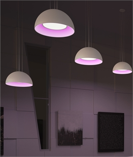 LED Colour Changing Dome Pendant Dia 700mm