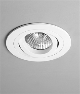 Adjustable Round Mains Downlight
