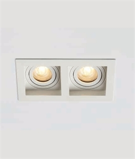 Adjustable Modular Downlight - White or Black
