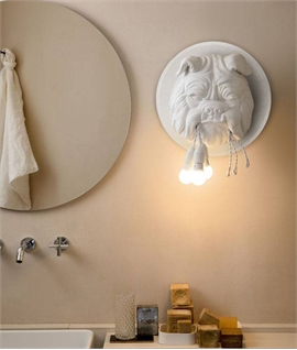 Wall Mounted British Bulldog Light