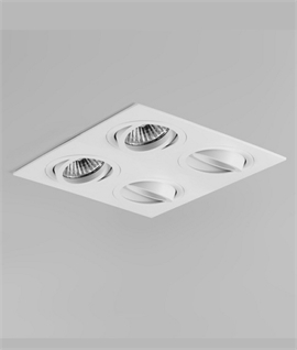 Quad Adjustable Mains Downlight