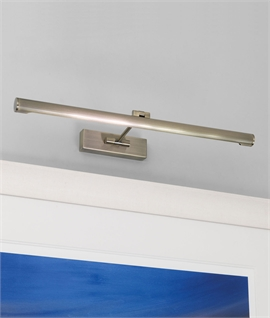 Fluorescent Contemporary Picture Light - Two Sizes