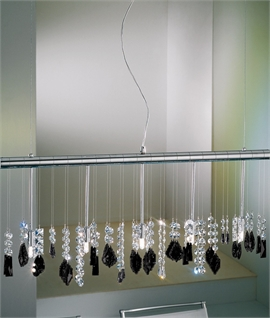 Wide Bar Swarovski Crystal Light