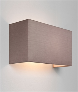Wide Back-To-Wall Light - Diffused Wall Washing Light Effect
