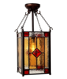 Victorian Hall Lantern Height 450mm
