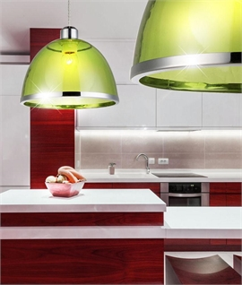 Acrylic Shade Pendant Dia 230mm or 340mm