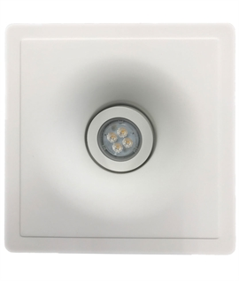 Adjustable Trimless Plaster-in Downlight - Large Curve