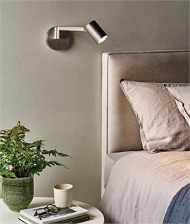 Swing Arm Bedside Adjustable Wall Light