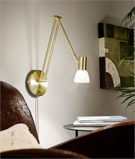 Adjustable Metal Lamp With Clamp Table Amp Wall Fixture