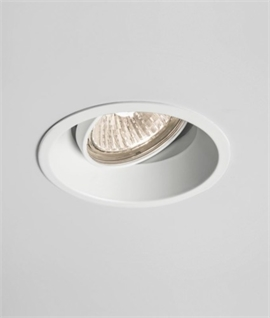 Mains Low Glare White Finish Downlight