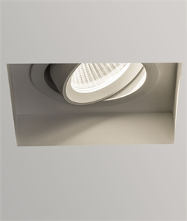 Adjustable Trimless LED Downlight - Round or Square