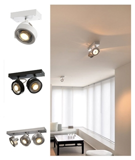 Adjustable High Output Spotlights for Wall or Ceiling
