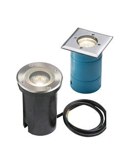 Budget Recessed Groundlight for Mains GU10 Lamps