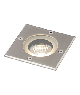 Vicenza Square buried uplight for GU10 lamp