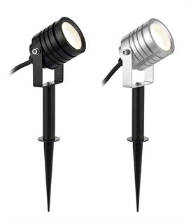 Versatile LED Exterior Spotlight - Rugged & Stylish