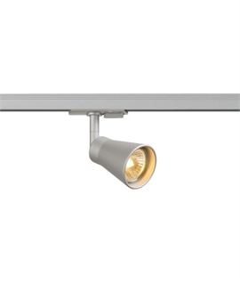 track lighting styles. Enclosed Conical Track GU10 Spot - Single Circuit Lighting Styles