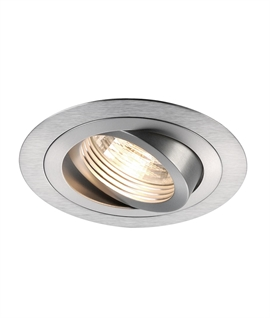Tilt and Turn Downlight for GU10 Mains Lamps