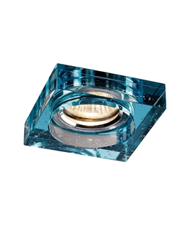 Square Crystal Bubble Downlight - 3 Colours