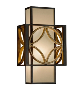 Box Wall Light - Arts & Craft Design