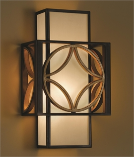 Art deco post war wall lights lighting styles box wall light arts craft design aloadofball