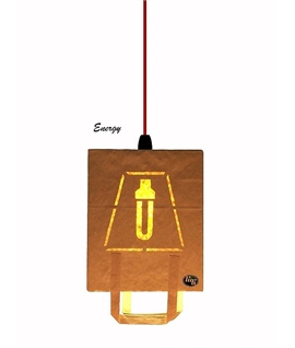 Bag A Light Eco Pendant