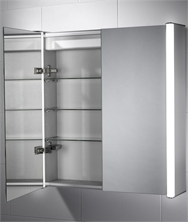 Back Lit Cabinet - Hand Sensor & Soft Close Doors