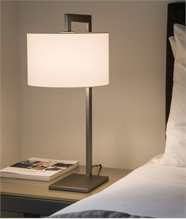 Table Lamp & Fabric Shades - 3 Options