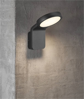 Exterior LED Flat Plate Wall Light