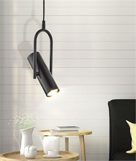 Adjustable Stirrup Style Spotlight Pendant